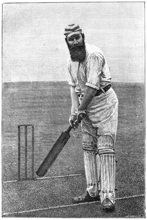 Cricket, WG Grace, 1891