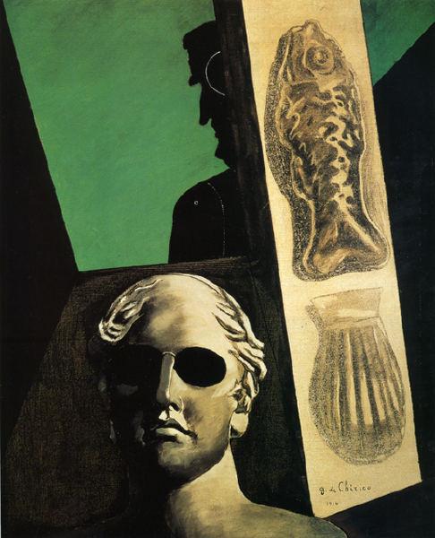 Giorgio de ChiricoRitratto premonitore di Guillaume Apollinaire 1914