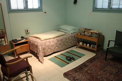 La camera da letto della casa di Ben Gurion a Sde Boker