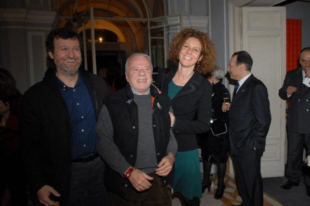 Danilo Eccker, Bonito Oliva, Claudia Gioia