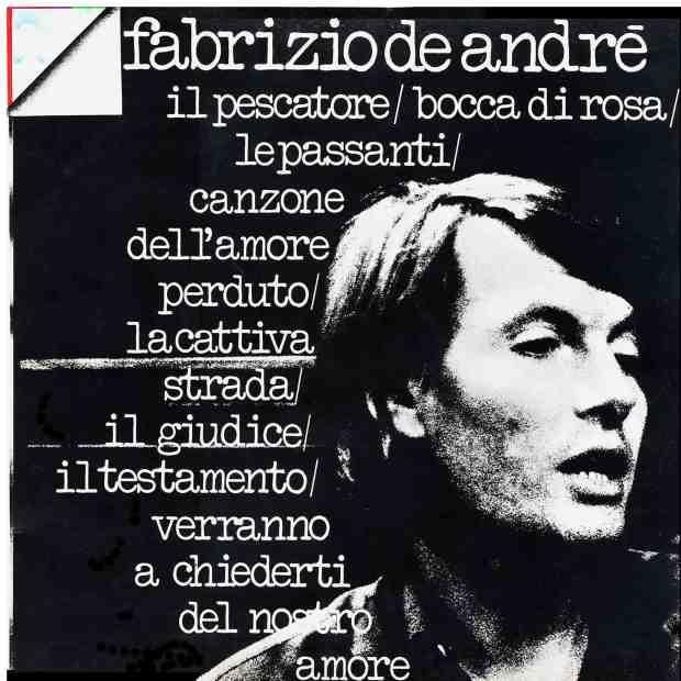 Fabrizio De Andre - Fabrizio De Andre (Edition Orizzonte) - Front