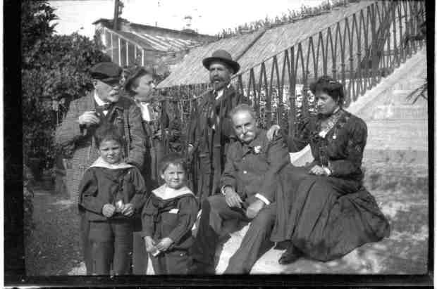 Orvieto Cantoni famiglia 1909