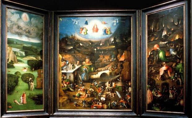 Trittico del Giudizio Finale - Hieronymus Bosch