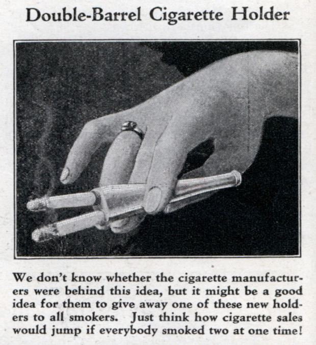 Double-Barrelled-Cigarette-Holder