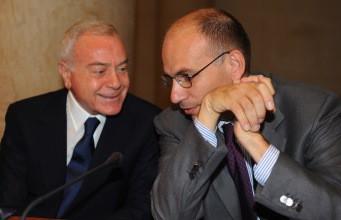 Enrico e Gianni Letta