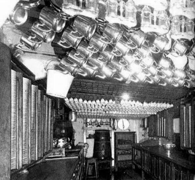 La cucina del Titanic