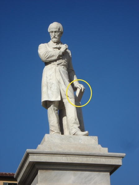 Statua di Giuseppe Mazzini, Pisa