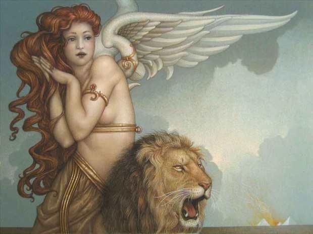 Michael-Parkes-Surreal-Paintings-12