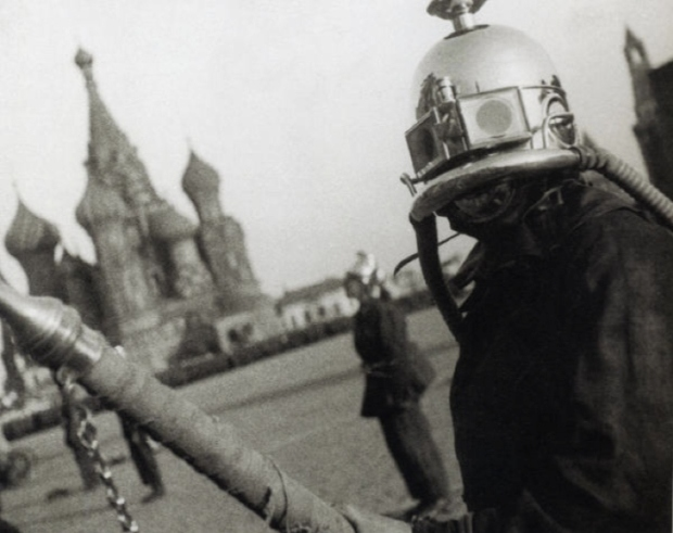Russiain-fire-fighter