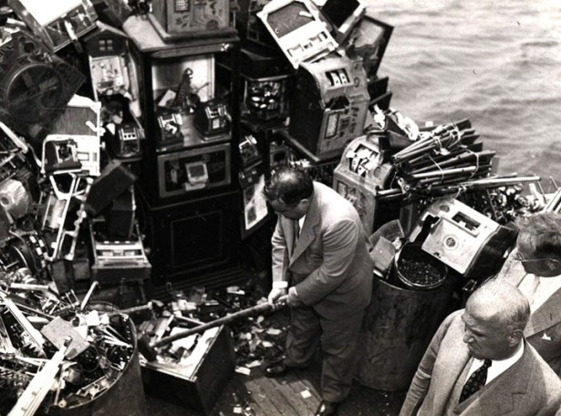 Smashing-Confiscated-Slot-Machines