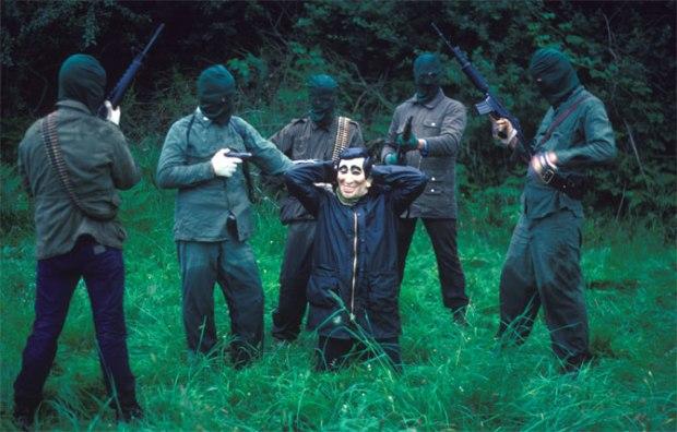 Soldati dell'IRA, 1985, foto di Harry Benson