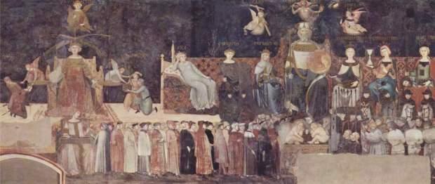 Ambrogio Lorenzetti - Il Buon Governo ... che Siena non si merita!