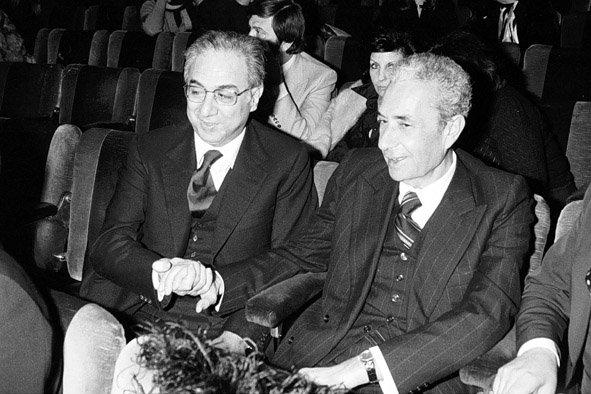 Aldo Moro e Francesco Cossiga