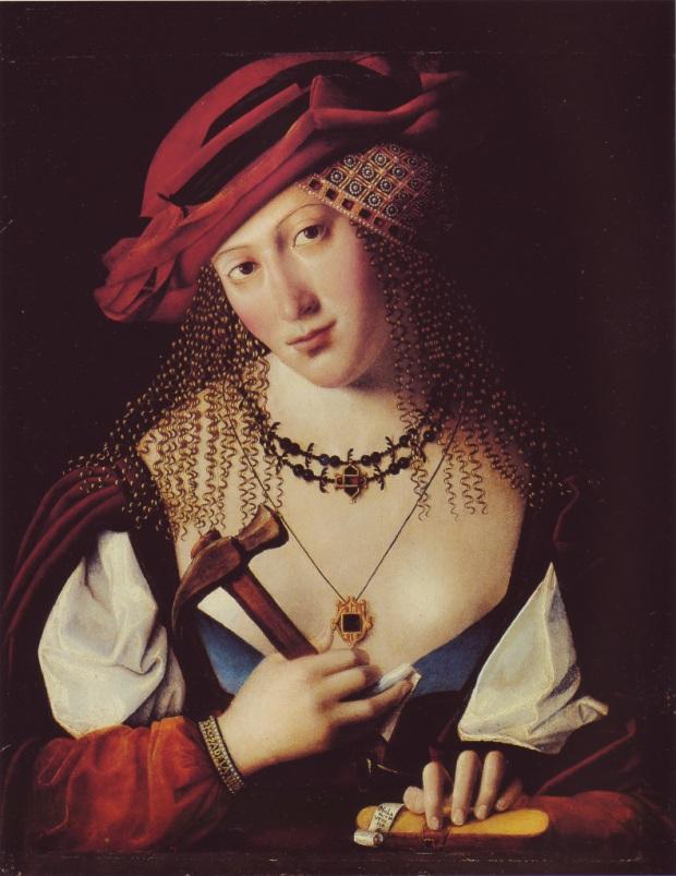 Bartolomeo Veneto (1502-1555, Yael