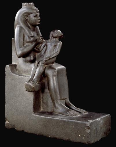 Iside allatta Horus