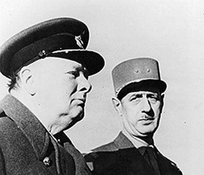 Churchill-de-Gaulle