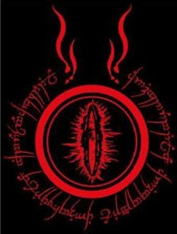 Clothing LOTR Shirt Eye of Sauron B