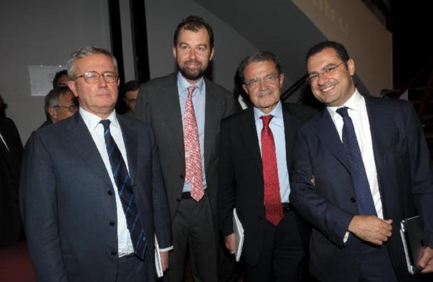Paolo Messa a destra, gli altri boh