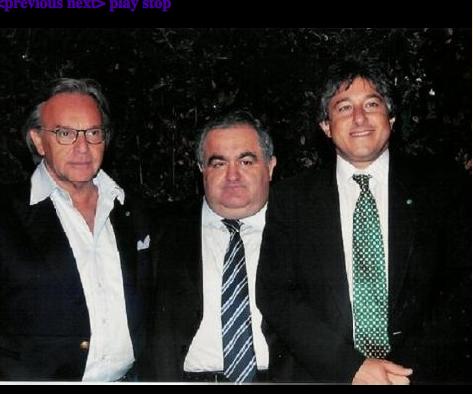 Quello a sx non centra niente, al centro l'arrestato Antonini della Banca Popolare di Spoleto, a dx il Prof. Antonio Giordano