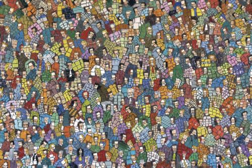 luca-barberini-folla-particolare-2009