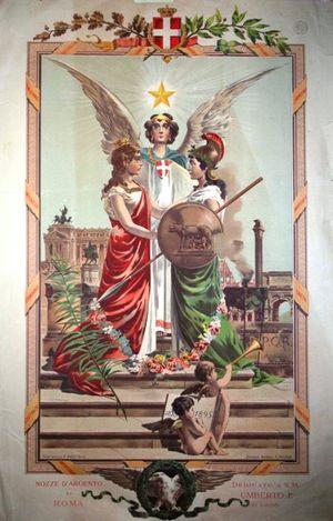 1870-1895._Nozze_d_argento_di_Roma_in_occasione_del_25_anniversario_della_Breccia_di_Porta_Pia