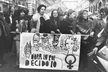 anni 70 femministe