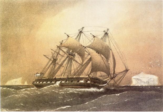 HMS_challenger_William_Frederick_Mitchell