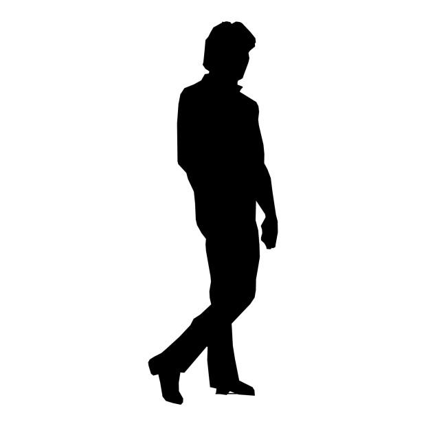 silhouette-man-walking