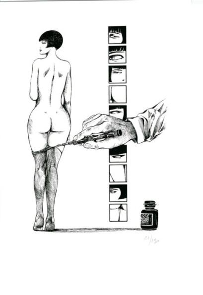 valentina-guido-crepax-nudo