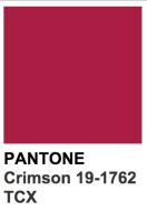 crimson-pantone