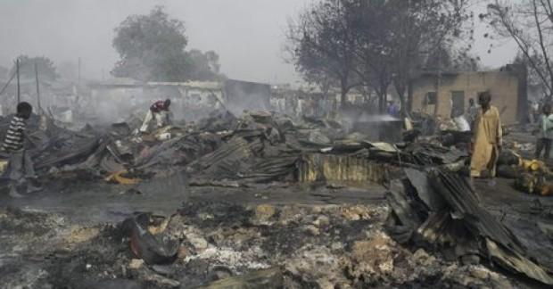 Nigeria Maiduguri Blasts