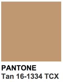 tan-pantone