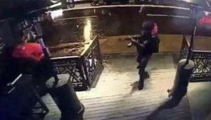epa05694602 A video capture shows the gunman entering the Reina nightclub, a popular night club in Istanbul near by the Bosphorus, in Istanbul, Turkey, early 01 January 2017. At least 39 people were killed and 65 others were wounded in the attack, local media reported. EPA/DHA VIA DEPO POHOTOS TURKEY OUT ; BEST QUALITY AVAILABLE