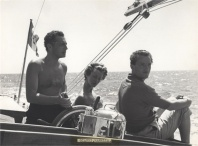 GIANNI AGNELLI, MARELLA AGNELLI, AND BENNO GRAZIANI (JULY 1957)