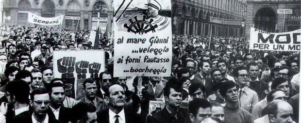 1971-Torino-Manifestazione-in-Piazza-S.-Carlo