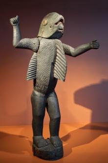 Homme-requin (vers 1890) - royaume du Dahomey