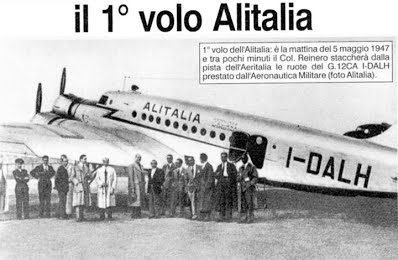 1 volo AZ 1947