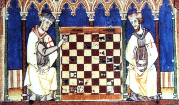 KnightsTemplarPlayingChess1283