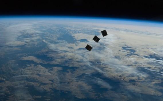 Mini satelliti verso la stazione spaziale internazionale