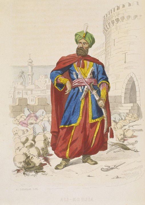 Ali Khoja Dey d'Algeri 1817-1818
