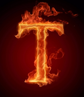 Burning-Letters-Wallpapers-T