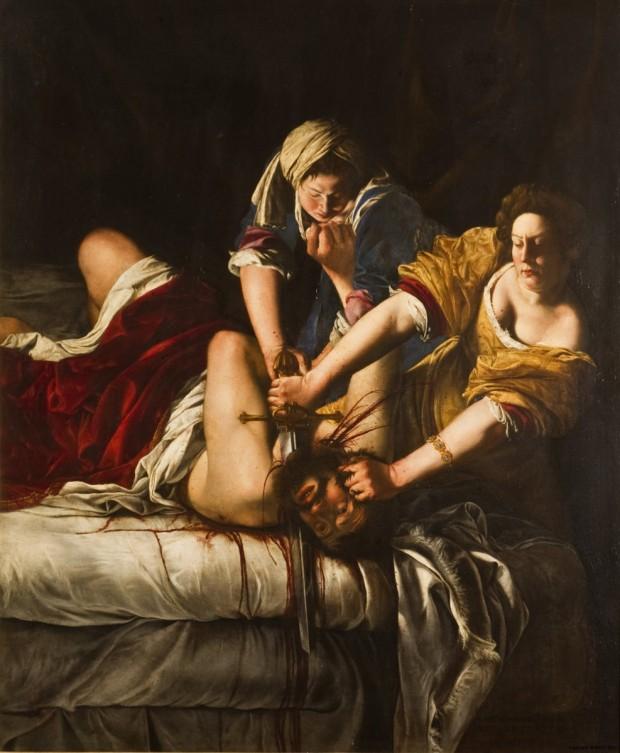 Artemisia_Gentileschi_Giuditta_Oloferne_Uffizi