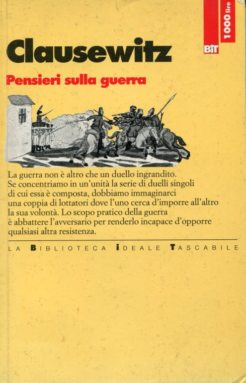 libro Clausewitz