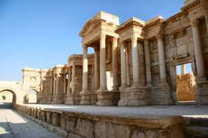 the-scene-of-the-theater-in-palmyra
